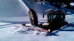 Быстрая уборка снега