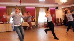 Танец русских парней