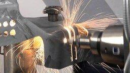 Смотреть Работа лазерного резака