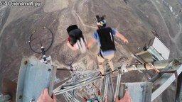 Смотреть Девять сальто в прыжке