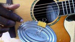 Смотреть Превращение гитары в барабанную установку