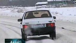 Как верно ехать по снежной колее смотреть видео прикол - 3:03