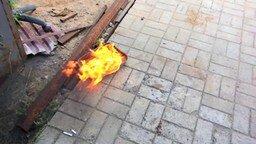 Смотреть Воспламеняется ли бензин от окурка?