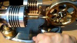 Двигатель внешнего сгорания смотреть видео - 3:56