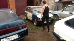 Как открыть машину без ключей смотреть видео прикол - 1:56