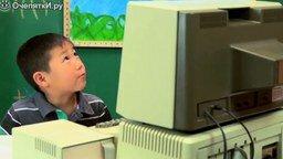 Смотреть Реакция детей на старый компьютер