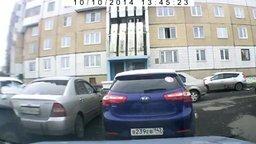 Смотреть Основательно припарковалась
