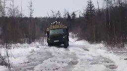 Смотреть Суровая перевозка дров