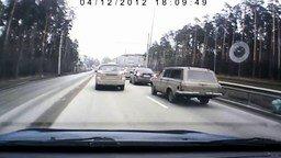 Ловушка для наглых водителей смотреть видео прикол - 0:42