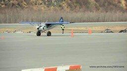 Самый короткий взлёт и посадка самолёта смотреть видео прикол - 2:22