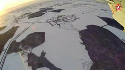 Уникальная съёмка с крыла Су-30 смотреть видео прикол - 3:10