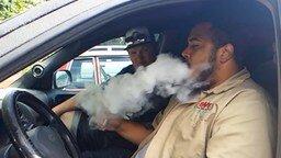 Смотреть Вибрирущий дым