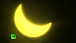 Солнечное затмение за полторы минуты смотреть видео - 1:23