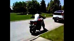 Падения с мотоциклов смотреть видео прикол - 0:42