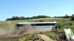 Бешеный автобус смотреть видео прикол - 0:28