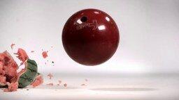 Смотреть Поглощение энергии падающего предмета гелем