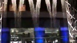 Смотреть Интересный японский фонтан-водопад