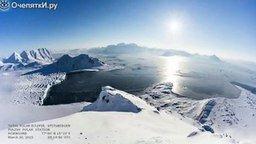 Смотреть Солнечное затмение на полюсе