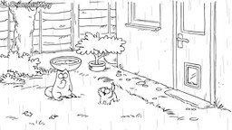 Смотреть Кот Саймона под апрельским душем