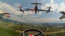 Посадки семи самолётов смотреть видео - 0:32