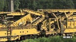 Смотреть Машина для прокладывания железной дороги