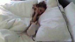 Подарок девушке в постель смотреть видео прикол - 1:33