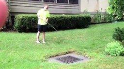 Рыбалка в канализации смотреть видео прикол - 1:03