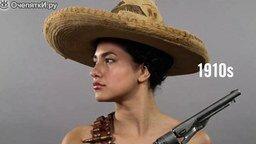 Мексика: изменение идеала женской красоты смотреть видео - 0:58