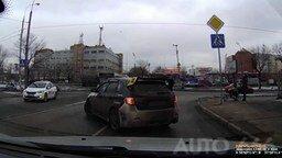 Будь человеком на дороге смотреть видео прикол - 2:45