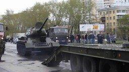 Смотреть Как запарковать танк