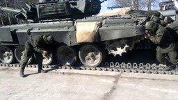 Смотреть Слишком танк разогнали