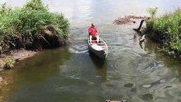 Совсем ленивая рыбалка смотреть видео прикол - 0:52