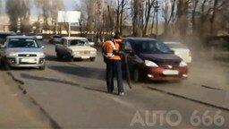 Дорожно-транспортные казусы смотреть видео прикол - 2:48