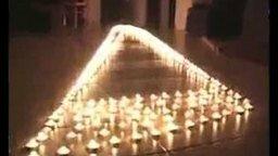 Смотреть Иллюзия со свечами