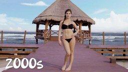 Смотреть Эволюция пляжного купальника