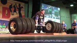 Подъём штанги в 524 кг смотреть видео - 1:08