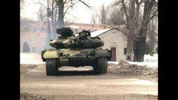 Смотреть Брутальный дрифт на танке