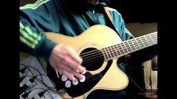 Смотреть Барабанная установка на гитаре