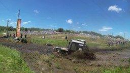 Смотреть Гонки на тракторах