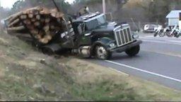 Трудно быть грузовиком! смотреть видео прикол - 6:03