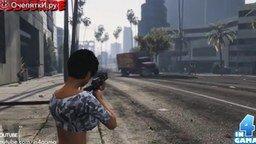 Смотреть Смешные моменты из GTA 5