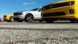 Гонка между тремя легендарными автомобилями смотреть видео прикол - 1:50