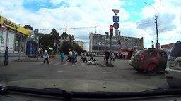 Смотреть Водитель-пешеход