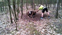 Смотреть Спасли рогатого барана
