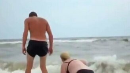 Смотреть Пьяные купальщики