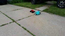 Детский транспорт из горшка смотреть видео прикол - 2:46