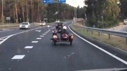 Самый виртуозный мотоциклист смотреть видео прикол - 0:22