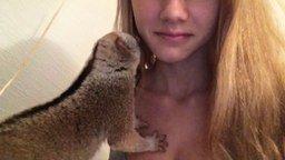Ленивец и его хозяйка смотреть видео прикол - 2:21