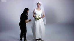 Смотреть Мода на свадебные платья в течение ста лет
