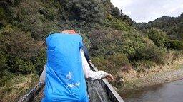 Смотреть Неосторожные туристы на мосту